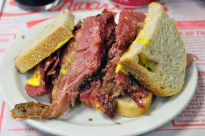 smoked meat Montreal Quebec