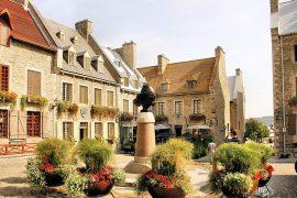Quebec place Royale