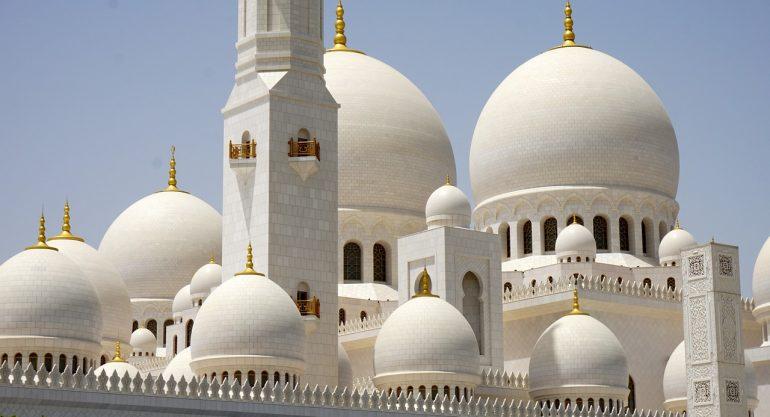 Mosquée cheikh zayed à Abou Dabi