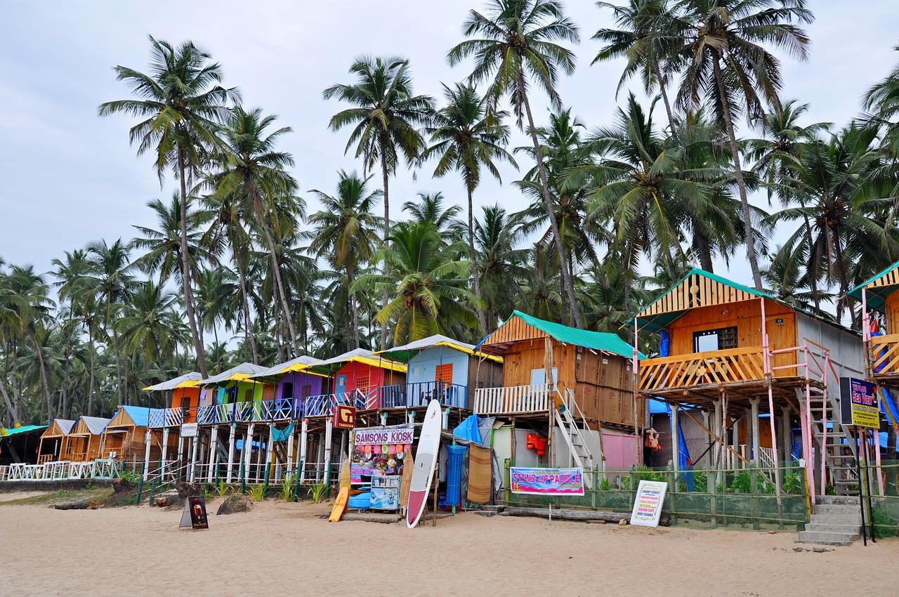 Plage de Goa _ voyage en Inde
